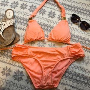 Bar III Swim - bar III peach 🍑 Bikini